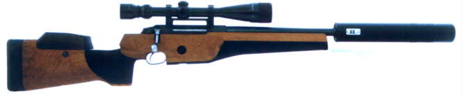Tikka target rifle with T8 Reflex Suppressor - click here for details